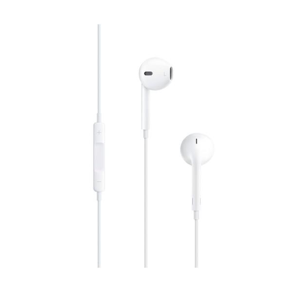 Apple md827zm/b earpods blancos auriculares con tapón anatómicos micrófono integrado jack 3.5mm alta calidad