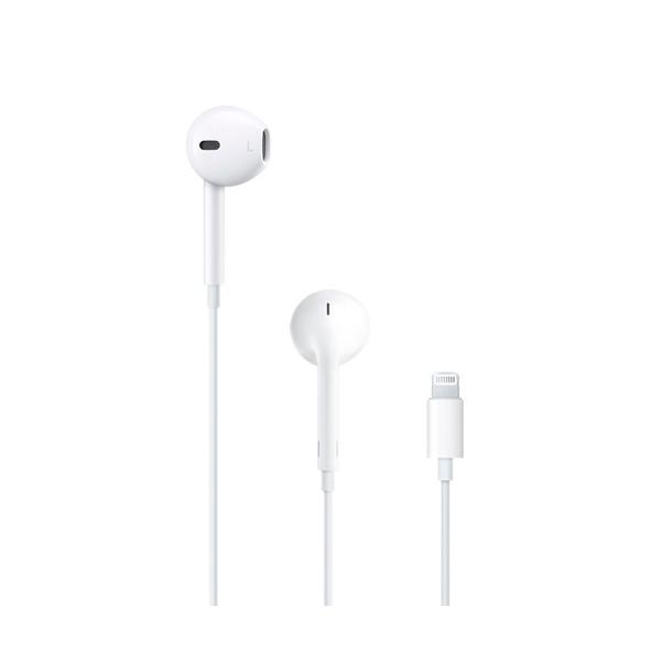 Apple mmtn2zm/a earpods blancos auriculares con tapón anatómicos micrófono integrado conector lightning alta calidad