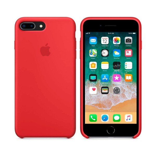 Apple mqh12zm/a rojo carcasa de silicona iphone 8 plus/7 plus