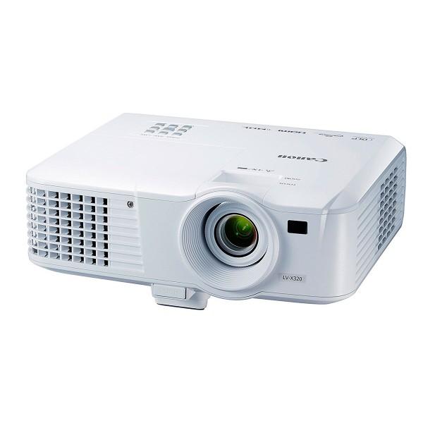 Canon lv-x320 proyector portátil xga 3.200 lúmenes lan hdmi mini d-sub audio ligero y compacto fácil transporte
