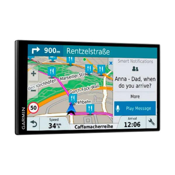 Garmin drivesmart 61 europa lmt-s navegador gps con pantalla táctil sin bordes de 6.95''