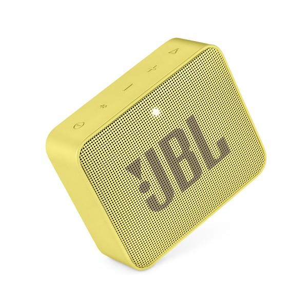 Jbl go2 amarillo altavoz inalámbrico portátil 3w rms bluetooth aux micrófono manos libres impermeable ipx7