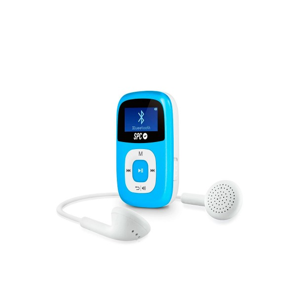 Spc firefly 8668a azul reproductor mp3 con bluetooth 8gb