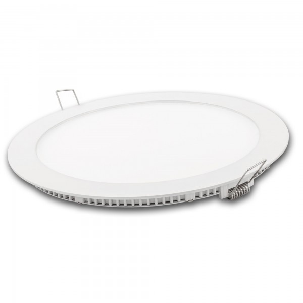 Downlight led redondo blanco 12w.calida