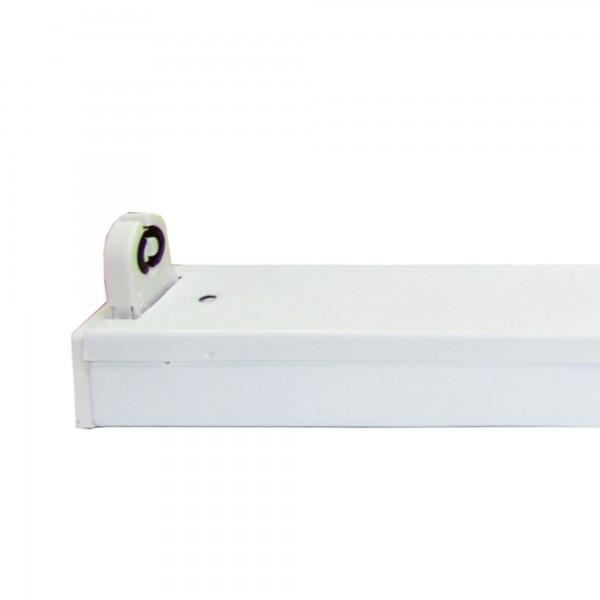 Regleta led ip20 p/1tubo led 25w.150cm
