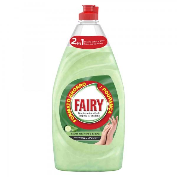 Fairy lavavajillas aloe vera y pepino,  500 ml