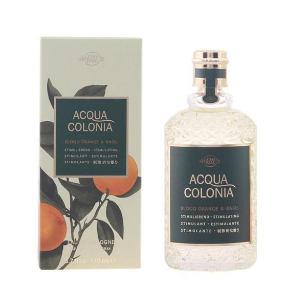 4711 acqua colonia eau de cologne blood orange & basil 170ml vaporizador