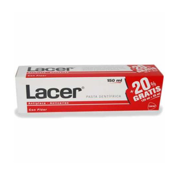 Lacer anticaries pasta dental 125ml