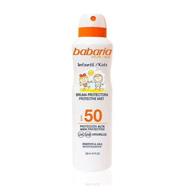 Babaria kids bruma spf50 200ml