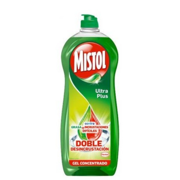 Mistol vajillas Ultra Plus Desincrustante 650ml