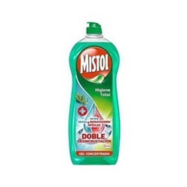 Mistol vajillas Higiene Total Desincrustante 650ml