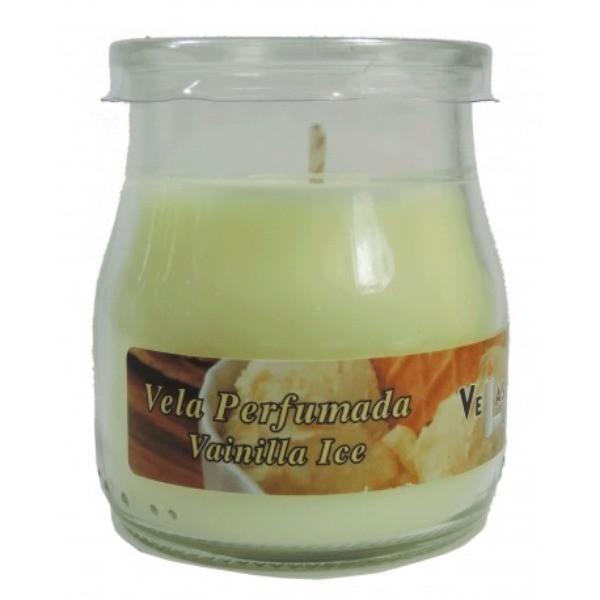 Vela perfumada yogurt Vainilla Ice