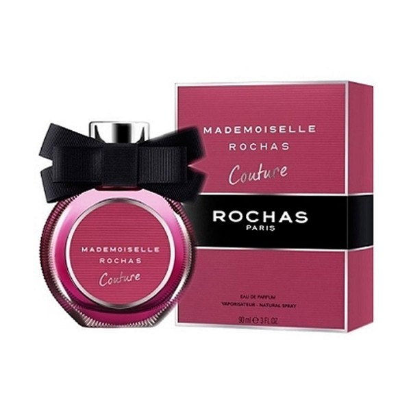 Rochas mademoiselle couture eau de parfum 90ml vaporizador