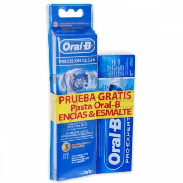 RECAMBIO PRECISION CLEAN 3U + PASTA PROMO