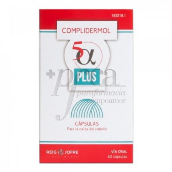 COMPLIDERMOL 5 PLUS ALFA 60 CAPS