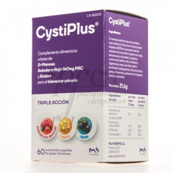 CYSTIPLUS 60 COMPS