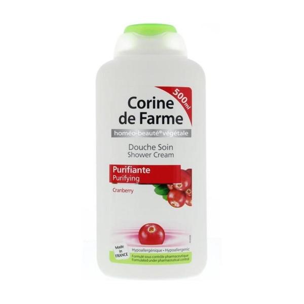 Corine de farme shower cream purifying cranberry 500ml