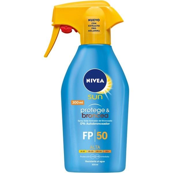 Nivea Sun protege & broncea Spray FP50 , 300ml.
