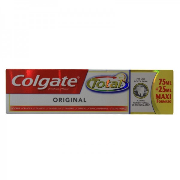 Colgate total dentífrico 75ml + 33% gratis