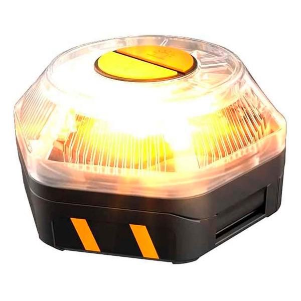Ksix safe light luz de emergencia homologada dgt autónoma de preseñalización de peligro