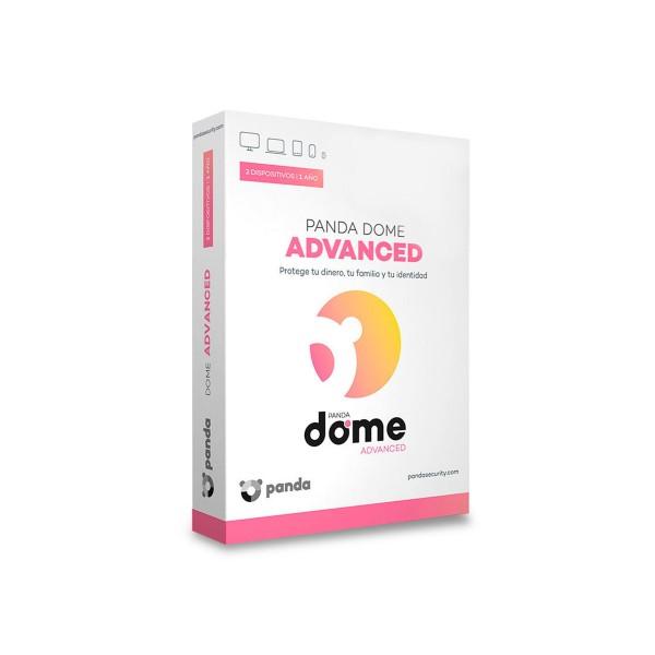 Panda dome advanced antivirus 2 licencias de 1 año para windows mac android e ios